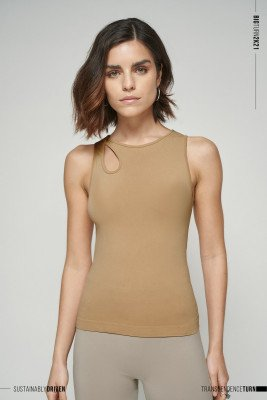 NU-IN Limited Edition Seamless Cut Out Top