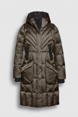 Creenstone Creenstone 2 in 1 Puffer with detachable sleeves - Coffee Bronze