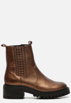 Ann Rocks Ann Rocks Chelsea boots brons