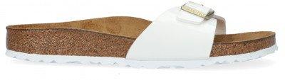 Birkenstock Witte Birkenstock Slippers Madrid Bs