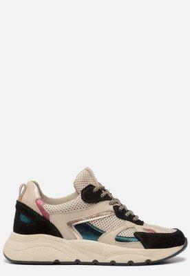 Ann Rocks Ann Rocks Sneakers zwart beige