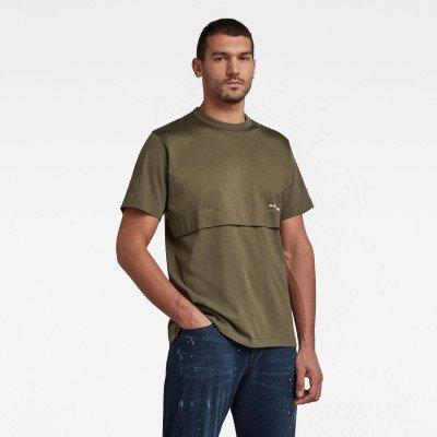 G-Star RAW Mercerized C&S Loose T-Shirt - Groen - Heren