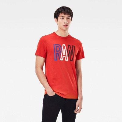 G-Star RAW Raw T-Shirt - Rood - Heren