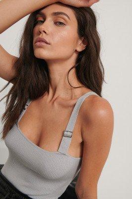 Jasmin Azizam x NA-KD Jasmin Azizam x NA-KD Body - Grey