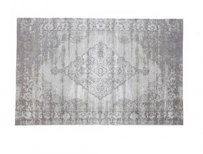 Brix Brix Vloerkleed 'Kelly' 200x290 cm, kleur Charcoal grey