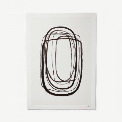MADE.COM Lines No 3 door Ana Frois, print, 50 x 70 cm