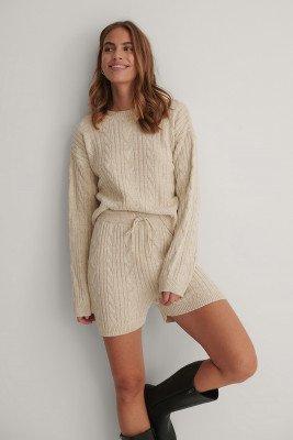 Trendyol Trendyol Milla Knitted Set - Beige