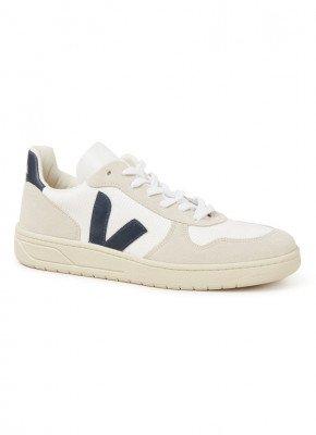 Veja Veja V-10 sneaker met suède details