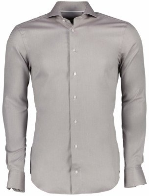 Cavallaro Napoli Cavallaro Napoli Heren Overhemd - Leallo overhemd - Licht Bruin