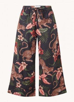 Desmond & Dempsey Desmond & Dempsey Soleia pyjamabroek met print