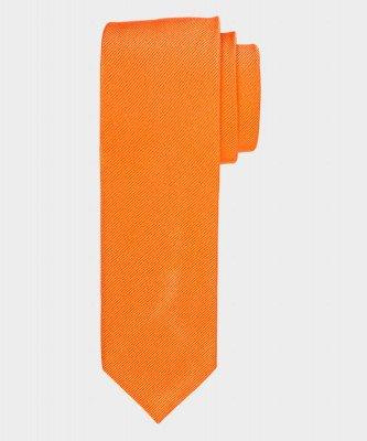 Michaelis Michaelis heren zijden stropdas oranje