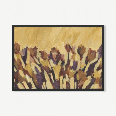 MADE.COM Autumn In The Canyon, ingelijste print, door Jetty Home, 70 x 100 cm