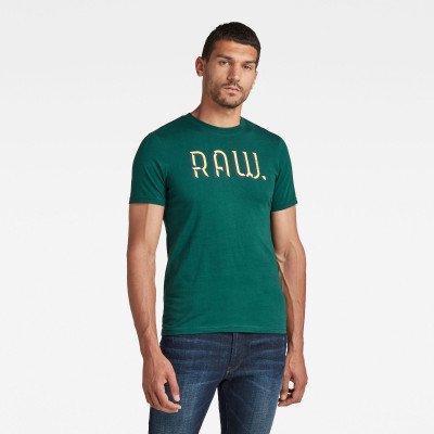G-Star RAW 3D RAW. Slim T-Shirt - Groen - Heren