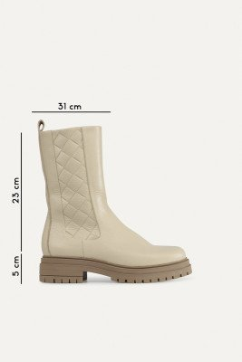 Shoecolate Shoecolate Chelsea boot Offwhite 8.21.04.301