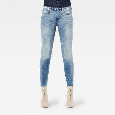 G-Star RAW Lhana Skinny Jeans - Lichtblauw - Dames