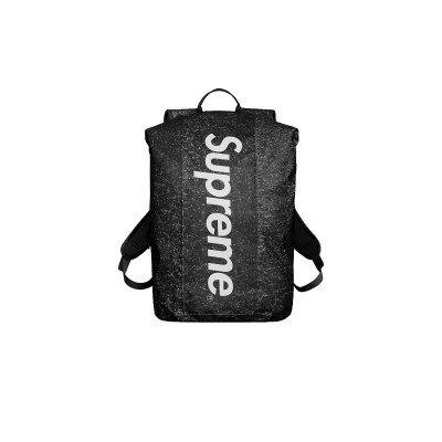 Supreme Supreme Waterproof Reflective Speckled Backpack Black (FW20)
