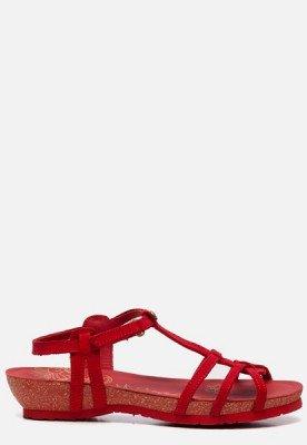 Panama Jack Panama Jack Dori Basics B8 sandalen rood