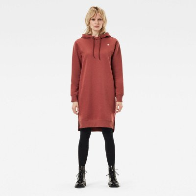 G-Star RAW The Graphic Text Boyfriend Hooded Sweater - Rood - Dames