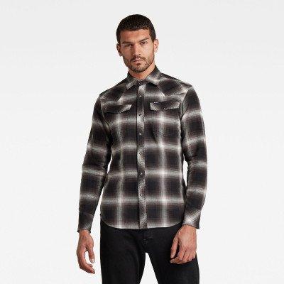 G-Star RAW 3301 Slim Overhemd - Meerkleurig - Heren