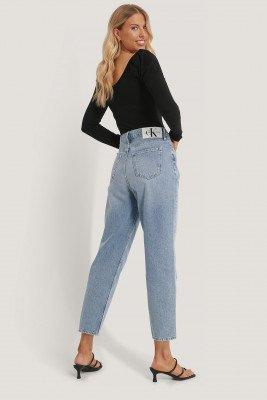 Calvin Klein Calvin Klein Jeans Met Hoge Taille - Blue