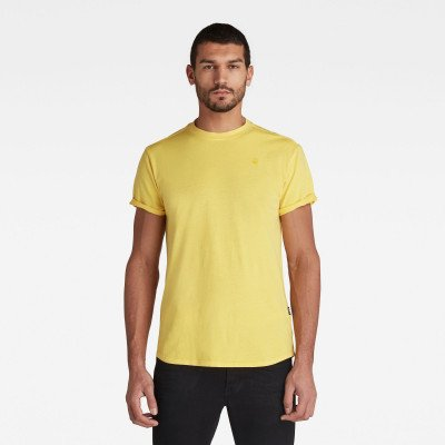 G-Star RAW Lash T-Shirt - Geel - Heren