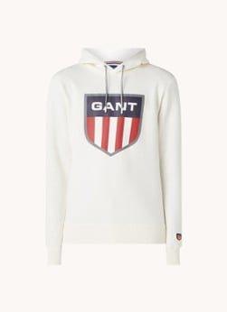 Gant Gant Hoodie met logoprint