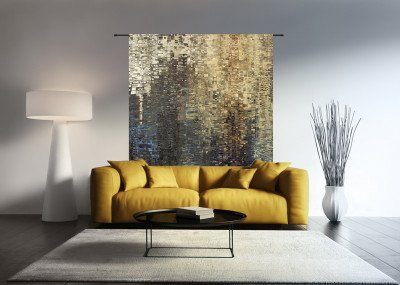 Urban Cotton Urban Cotton Wandkleed 'Drops', 190 x 145cm