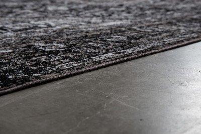 ZILT Vloerkleed 'Elian' 160 x 230cm, kleur Zwart