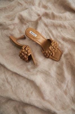 NA-KD Shoes NA-KD Shoes Hakken Met Meerdere Bandjes - Beige