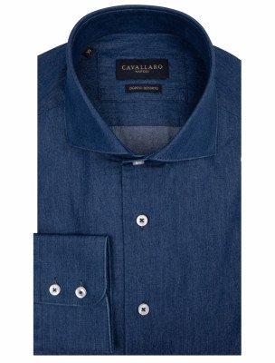 Cavallaro Napoli Denimo Overhemd