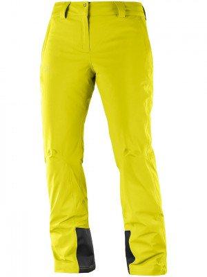 Salomon Salomon Icemania Pants Long geel