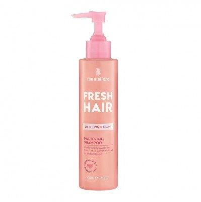 Lee Stafford Lee Stafford Fresh Hair Pink Clay Purifying Shampoo