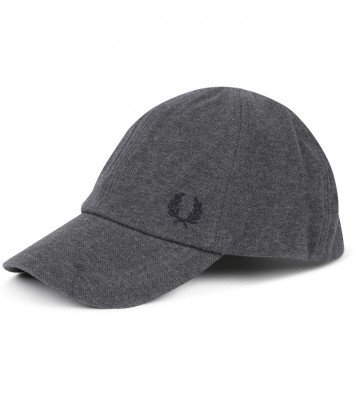 Fred Perry Fred Perry Classic Cap Antraciet