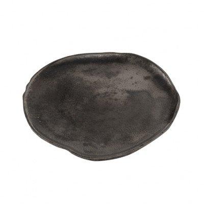 Firawonen.nl PTMD Florenz oxidised copper alu tray round s