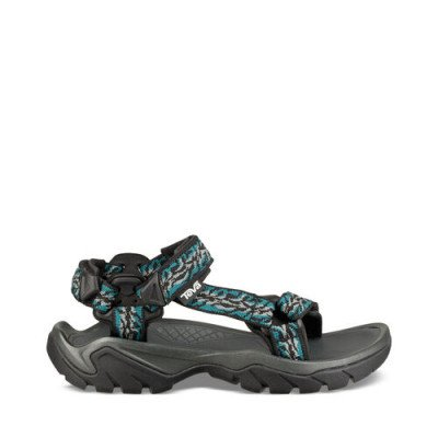 Teva Teva Terra Fi 5 Universal Sandalen, Blauw / Zwart voor Dames, Maat 38