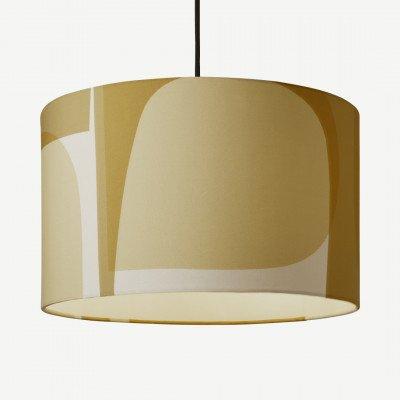 MADE.COM Helvi geprinte lampenkap, 40 cm, meerkleurig