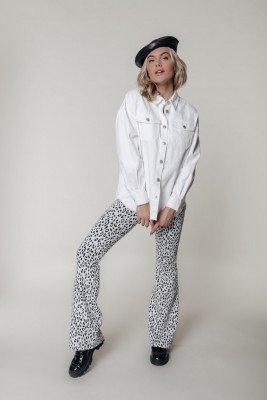 Colourful Rebel Colourful Rebel Sabrina Blouse Wit Dames - Oversized Fit - Katoen