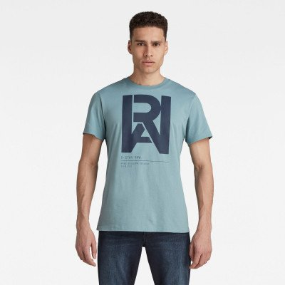 G-Star RAW Graphic RAW T-Shirt - Grijs - Heren