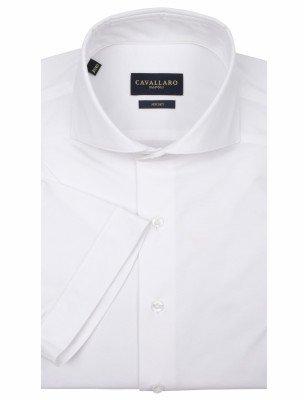 Cavallaro Napoli Cavallaro Napoli Heren Overhemd - Franco Overhemd - Wit