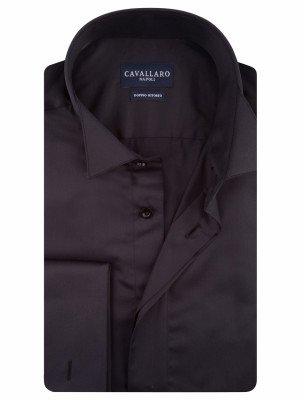 Cavallaro Napoli Cavallaro Napoli Heren Overhemd - Ceremonial Overhemd - Zwart