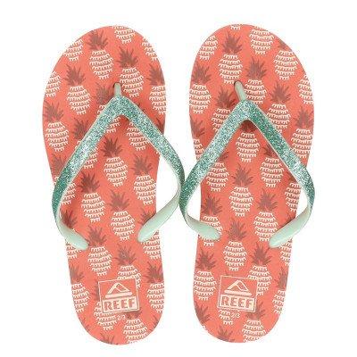 Reef Reef Kids Stargazer Pineapple slippers