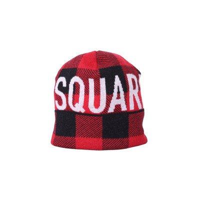 Dsquared2 Cappello Lana Check Logo