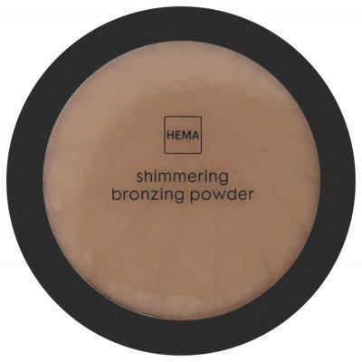 HEMA HEMA Shimmering Bronzing Powder 02 Almond Glow (brons)