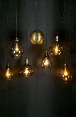 BePureHome BePureHome Glazen Hanglamp 'Pure', kleur Grijs