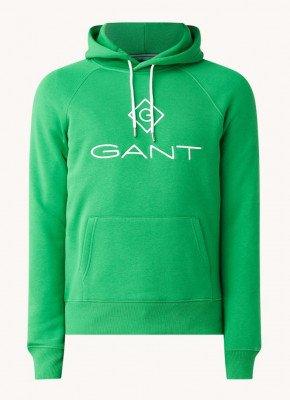 Gant Gant Hoodie met logoborduring