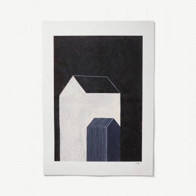 MADE.COM House No 1 door Ana Frois, print, 50 x 70 cm