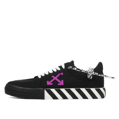 Off-White Off-White Vulc Low Top Sneaker Black Purple (2020)