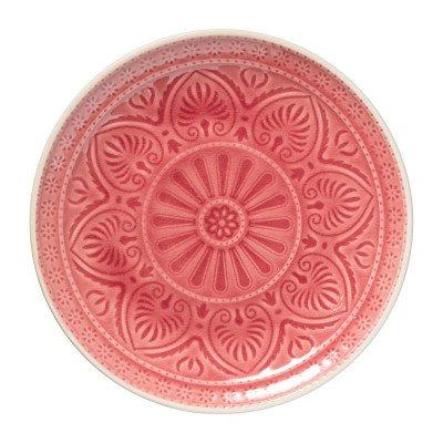 Xenos Dinerbord Yasmine - roze - 25.5 cm