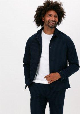 Scotch en Soda Blauwe Scotch & Soda Jack 163314 - Yarn-dyed Shirt Jacke