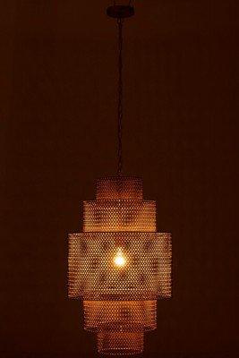 J-Line J-Line Hanglamp 'Gui' Ø45cm, kleur Goud